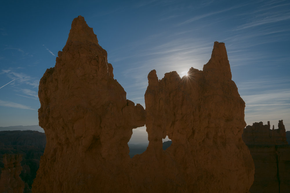 Bryce Morning Sun Star
