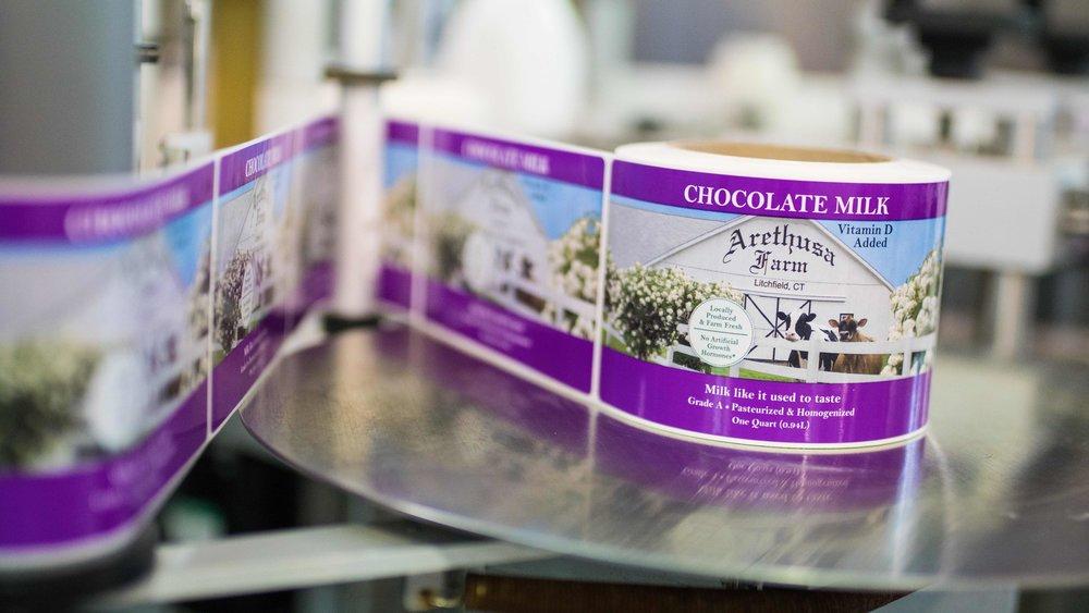 Arethusa Farm Dairy Chocolate Milk