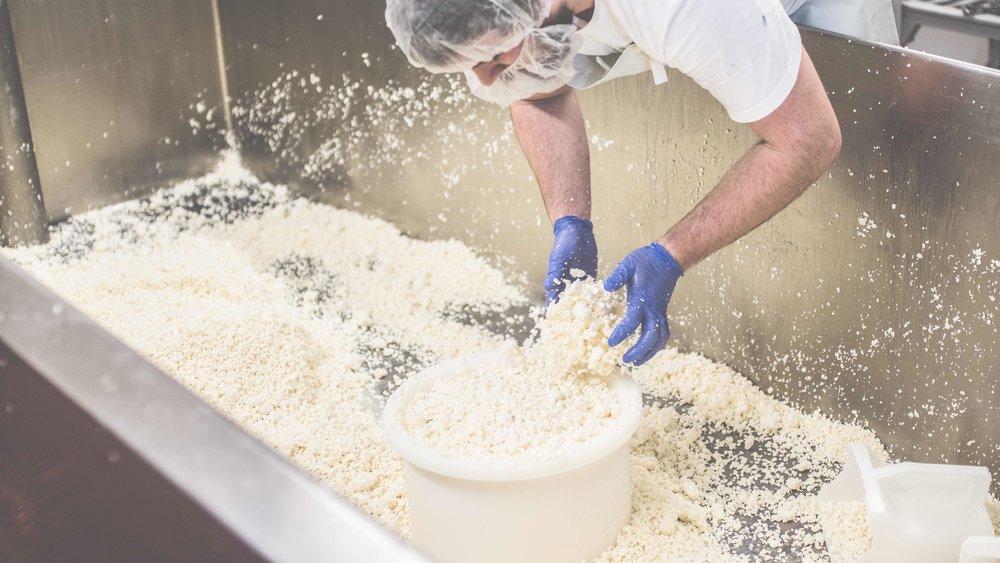 Arethusa Cheese Making
