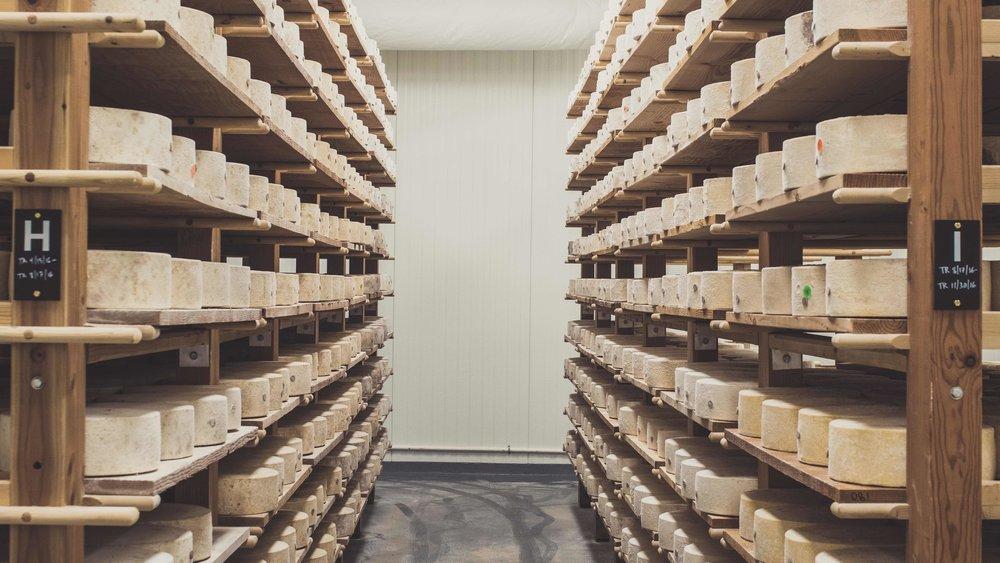 Arethusa Farm Dairy Cheese Cave