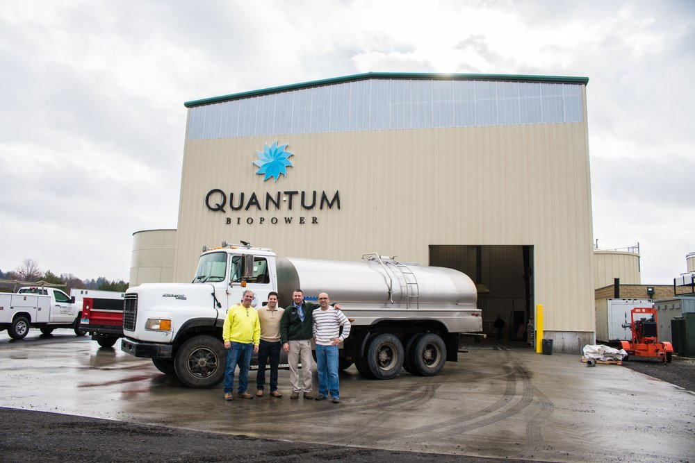 Arethusa Farm Dairy and Quantum Biopower
