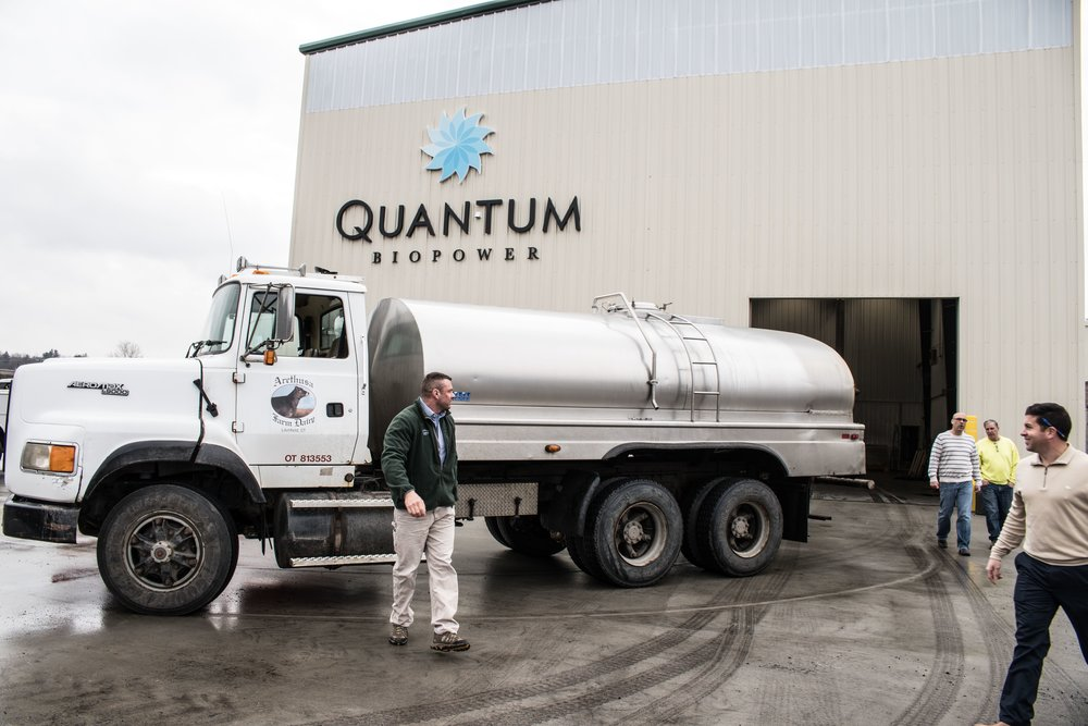 Arethusa Farm Dairy Quantum Biopower Whey Delivery