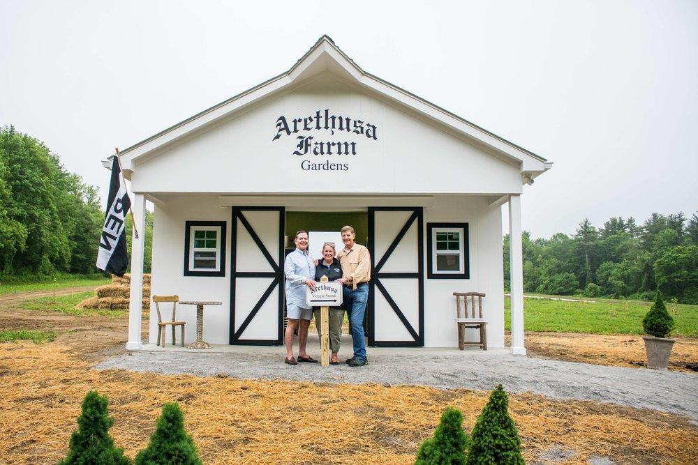 Arethusa Veggie Stand Opening