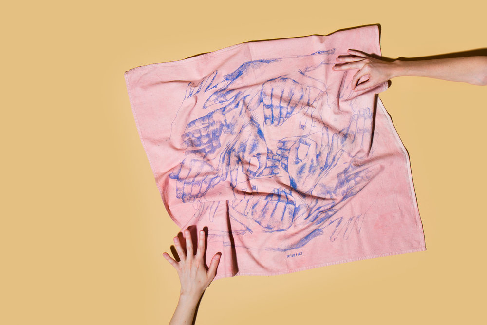 Hands Towel by  New Hat