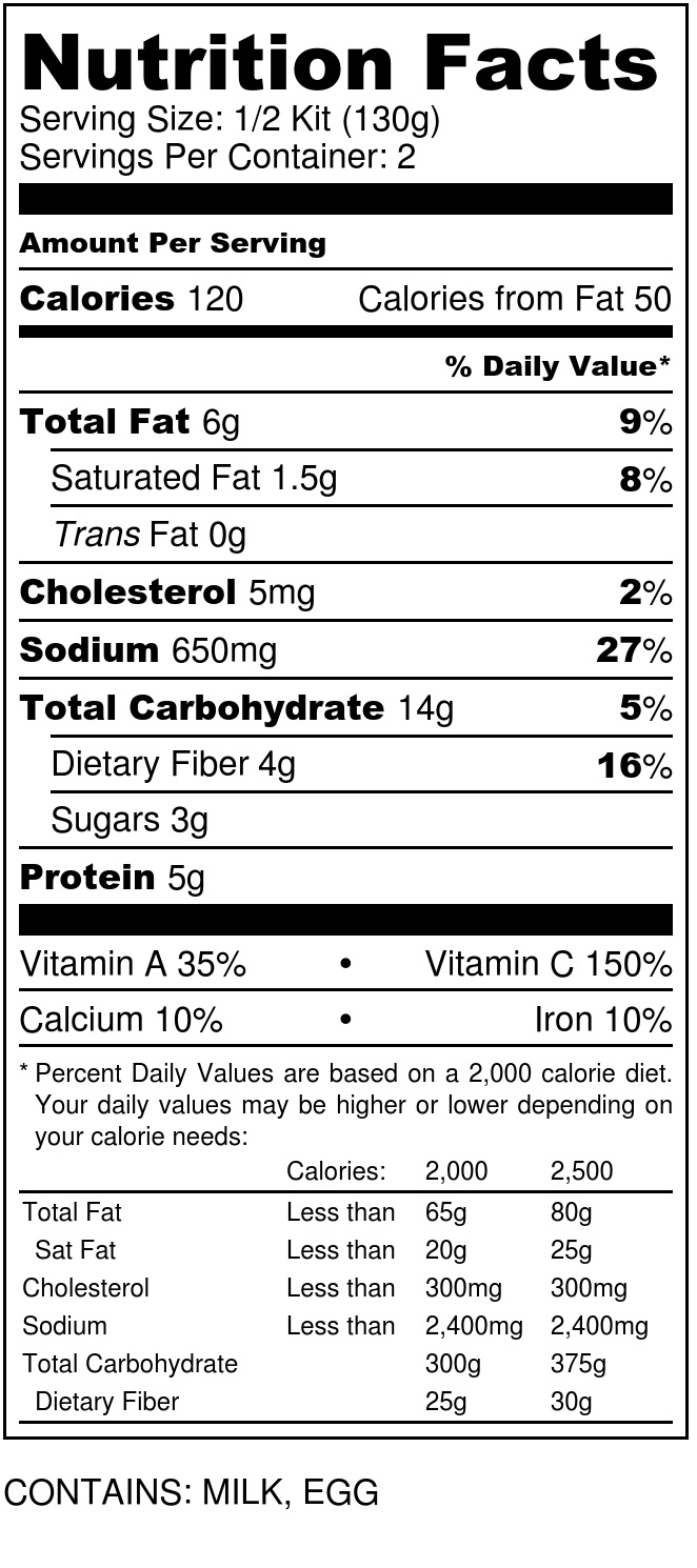 BROCCOLI CHEDDAR ROASTING KIT - Nutrition Label (1).jpg