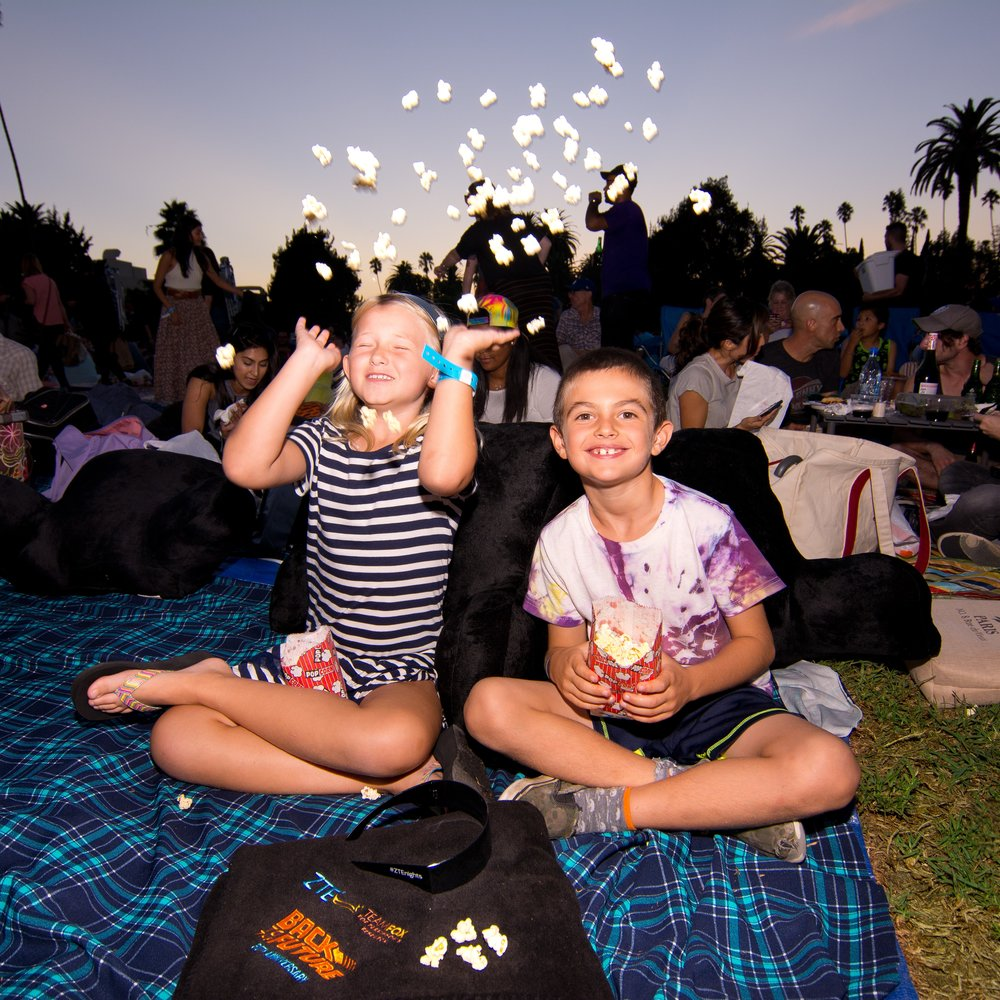 Family Fun at ZTE Summer Nights