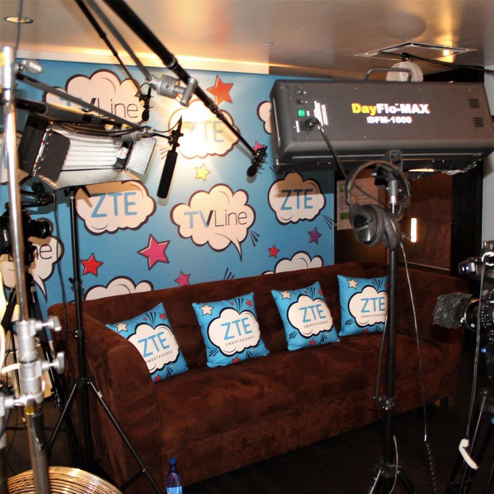 TVLine Interview Studio & Lounge Sponsored by ZTE