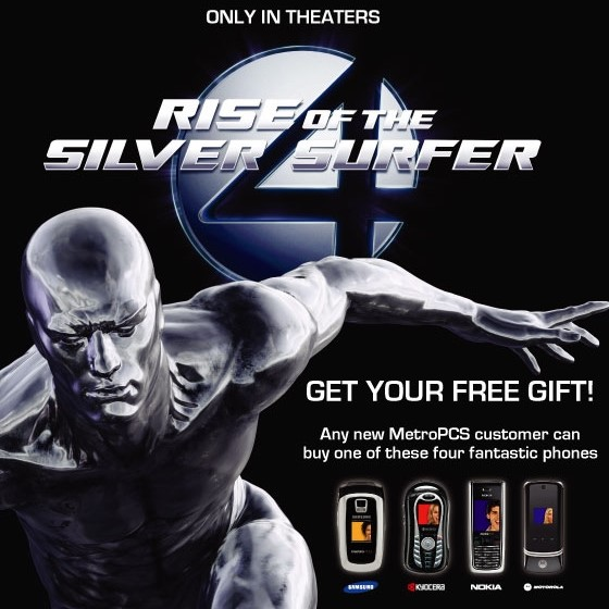 MetroPCS Fantastic Four Gift with Purchase
