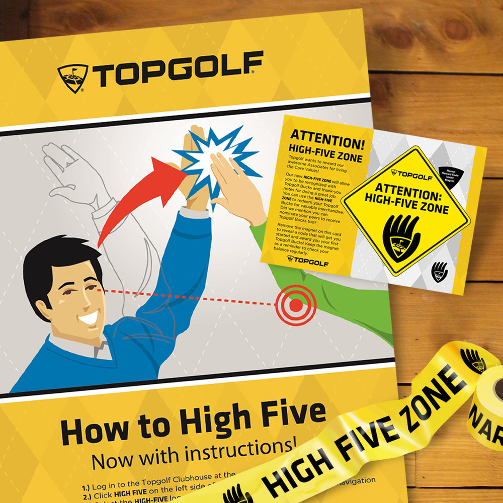 Topgolf Employee Recognition Program