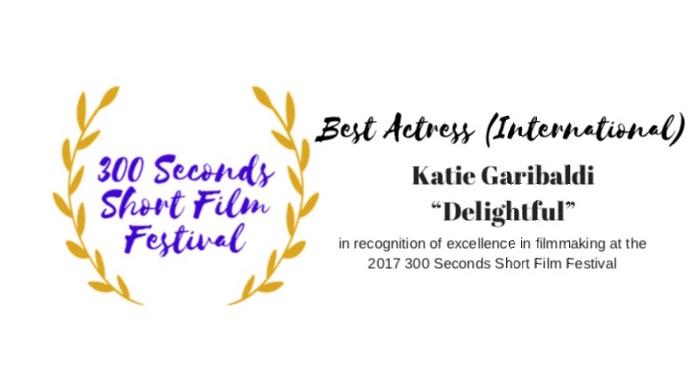 Katie Garibaldi   Best Actress