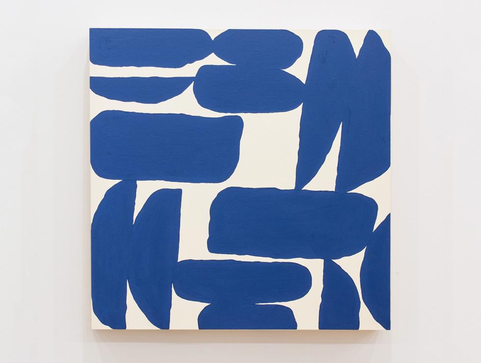 2015 Shape Scape Drape (Ragga 2043) acrylic on canvas, 36 in x 36 in