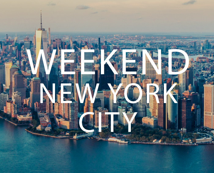 new york en week end