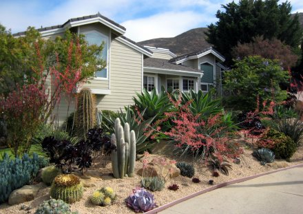 Landscaping Services - Drought tolerant landscaping is one of the most popular type of landscaping in Huntington Beach. We also provide lawn installation, artificial grass installation, sprinkler systems and french drains. Learn More...