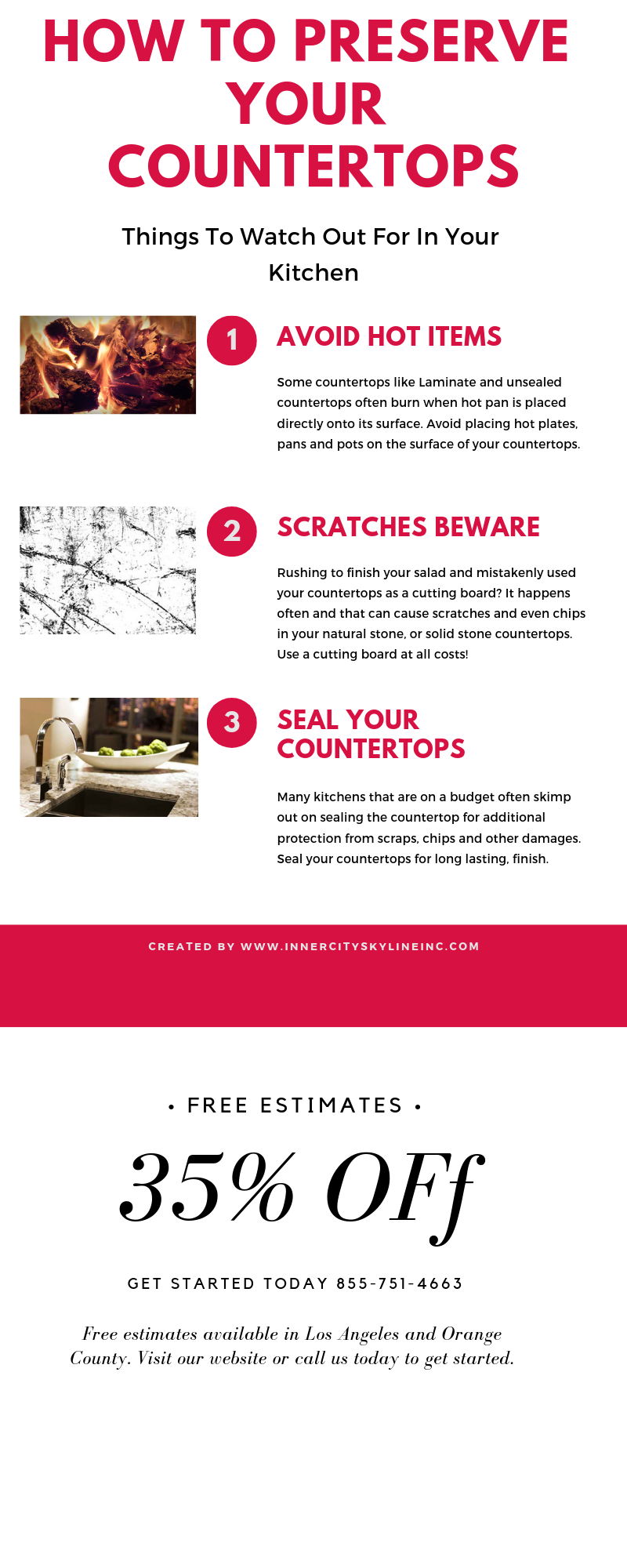 Countertop Infograph on preserving