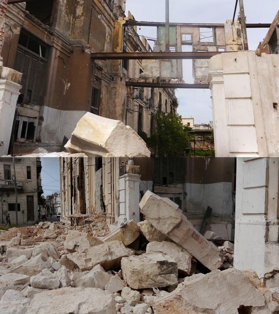 Figure         SEQ Figure \* ARABIC       3          .   Colegio Santo Angel , collapse.