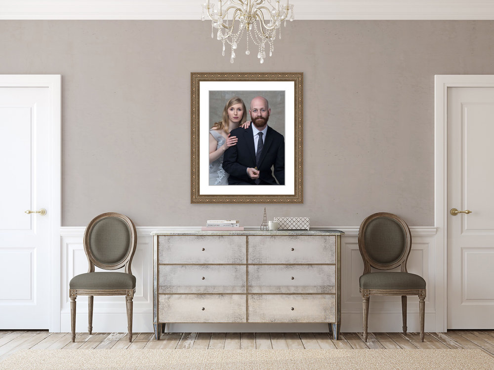 Elegant Wall Portraits - For Your Home or Office!