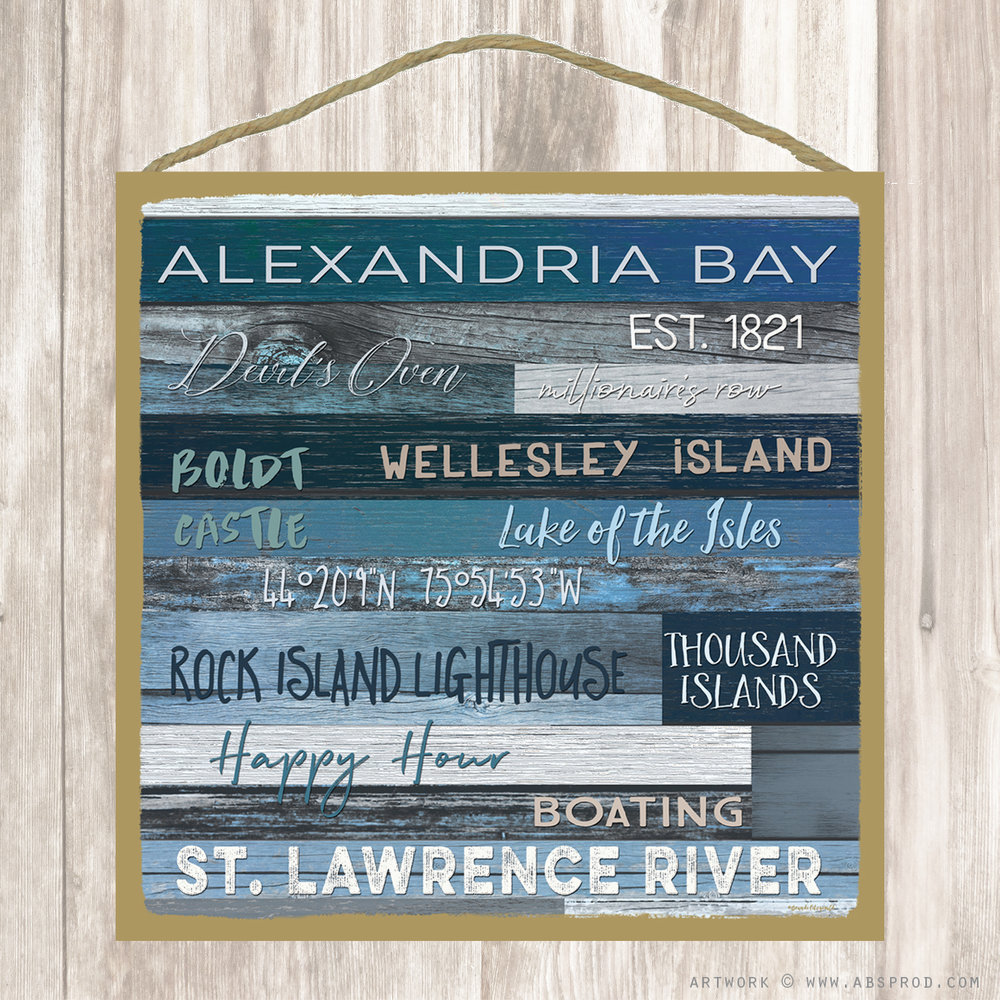 Square Wood Plaques