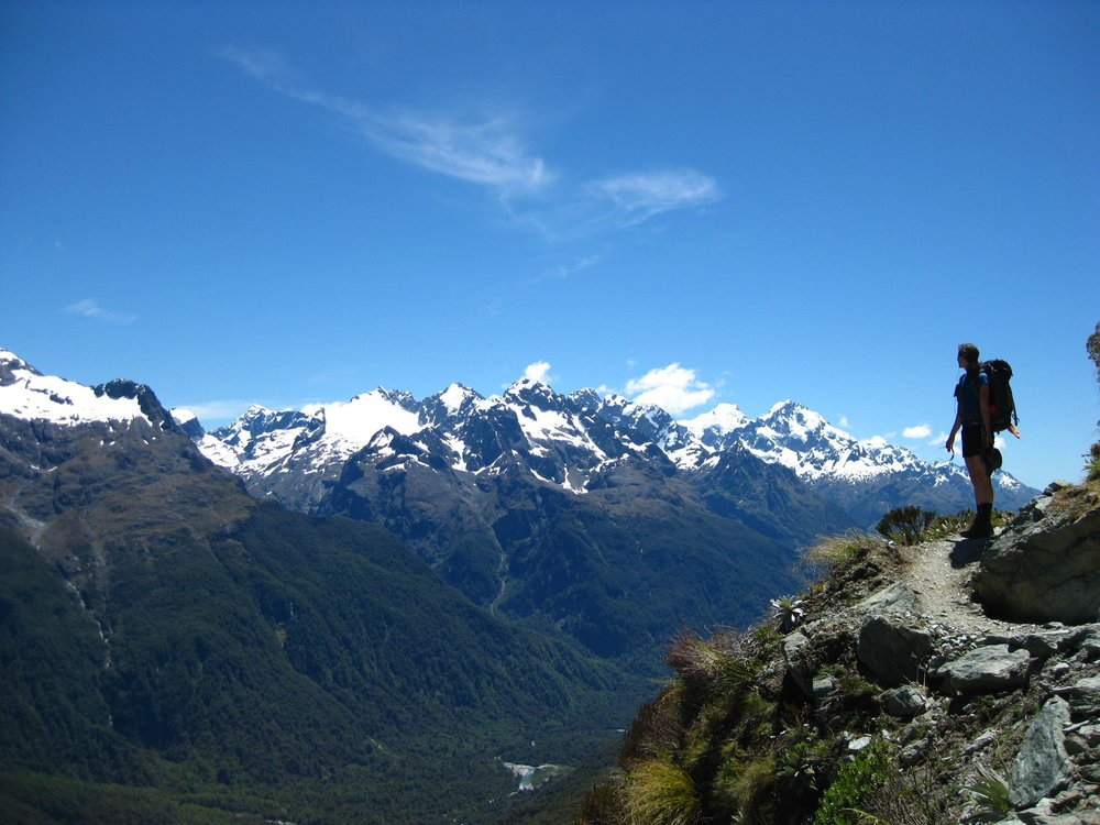 "Entrepreneur-life can be FANTASTIC... me ""living out the metaphors"" in New Zealand."