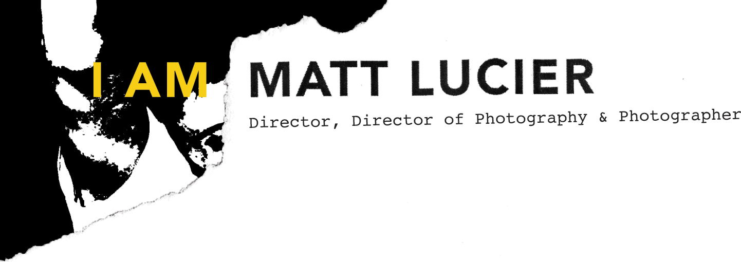 I AM MATT LUCIER