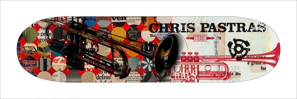 Stereo Skateboard Americana Series - Chris Pastras