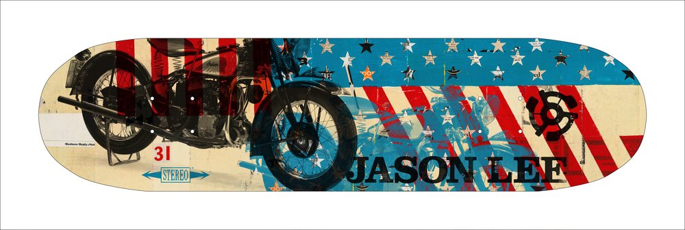 Stereo Skateboard Americana Series - Jason Lee