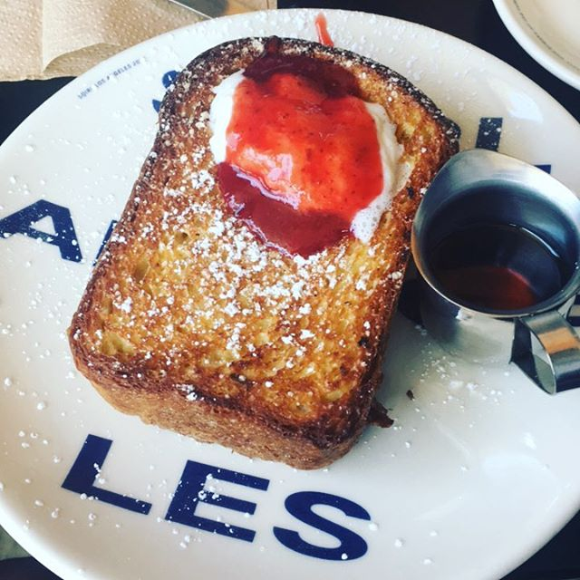 Finally getting on that #BriocheToast life @sqirlla . . #sorblessed