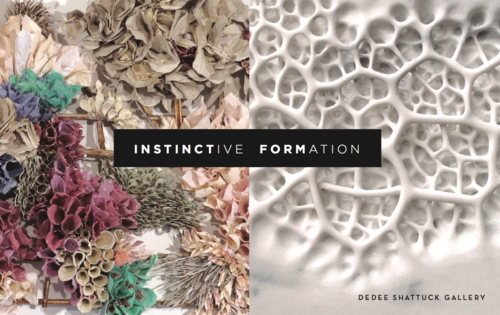 "Review-  ""Instinctive Formation"" at the Dedee Shattuck Gallery"