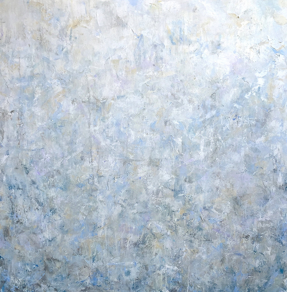 The Sound of Absence (II), 40x40, acrylic on canvas,  SOLD   + inquire