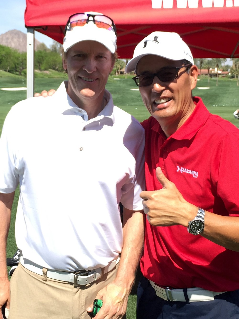 Jack Wagner (Actor/Singer; General Hospital, Santa Barbara, The Bold and the Beautiful and Melrose Place. 2x champion of the American Century Golf Championship!)