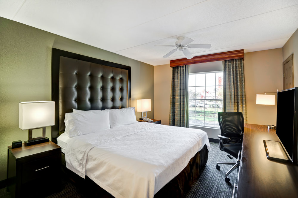 """Homewood Suites by Hilton Baltimore Hotel Room"