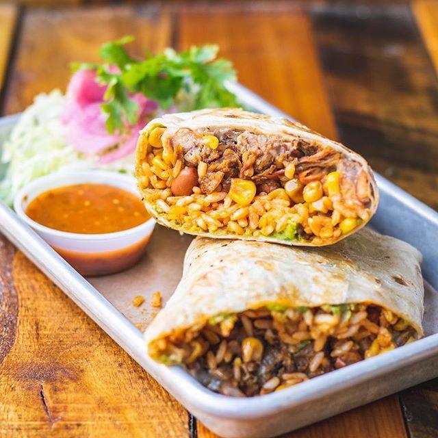 Burritos make Mondays easier