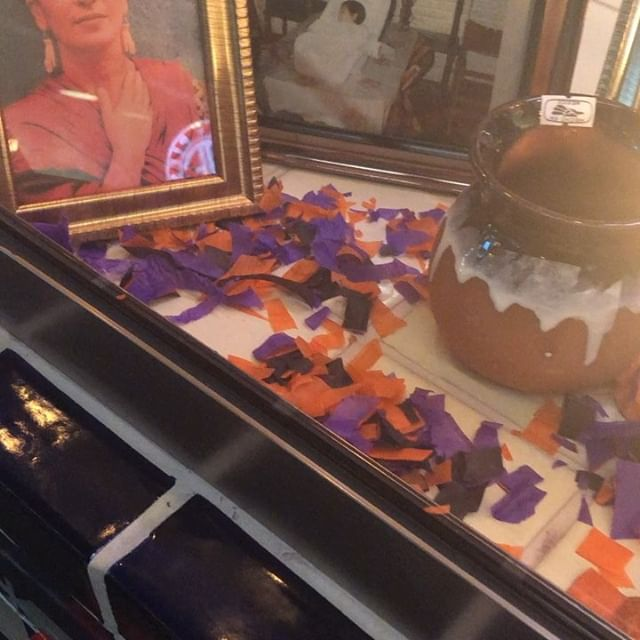 Vote for us for the best decorations at @legacyfoodhall ! Celebrate #diadelosmuertos with us #10