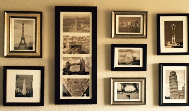 Small picture frames in standard and unusual sizes are always on hand!