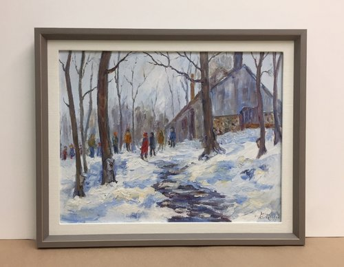 Frame Art on Canvas – Baas Framing Studio — Baas Framing Studio