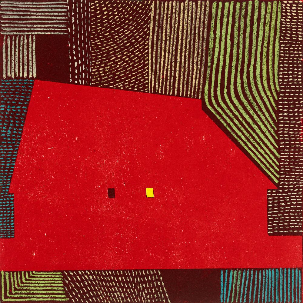 """Red Barn III"" by Judy Talley"