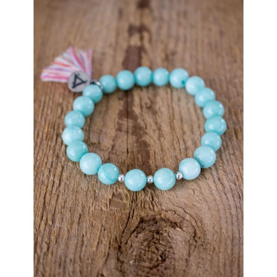 Bracelet Divine Aqua, disponible ici.