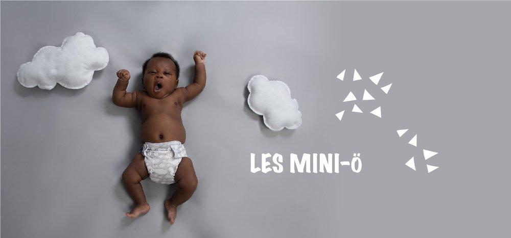 couches lavables nouveau-né Mini-Ö