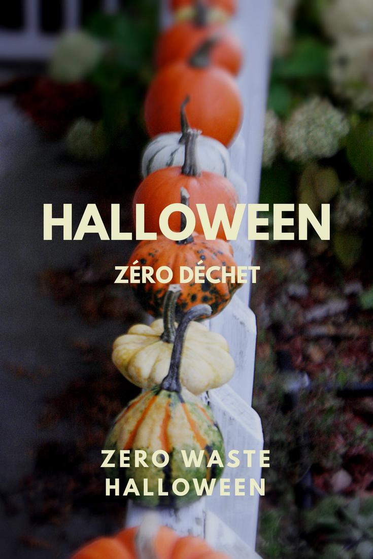 Halloween zéro déchet zero waste