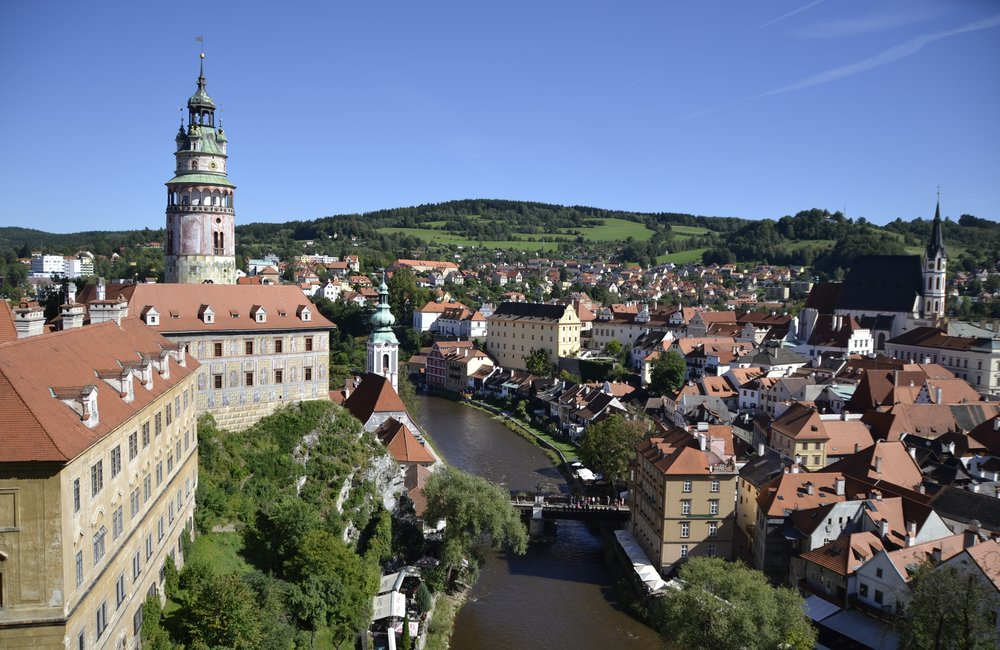 Cesky Krumlov on tour while on conference with CPE Conferences