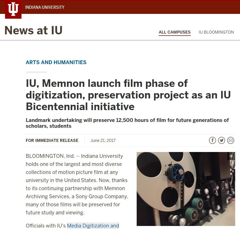 IU, Memnon launch film phase of digitization - 21 June 2017
