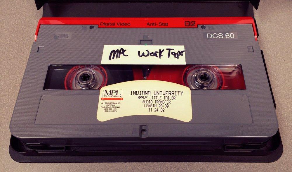 D2 master tape