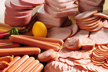 - processed meats