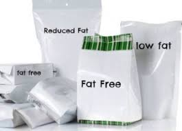 - All Fat-Free or Reduced FatFood