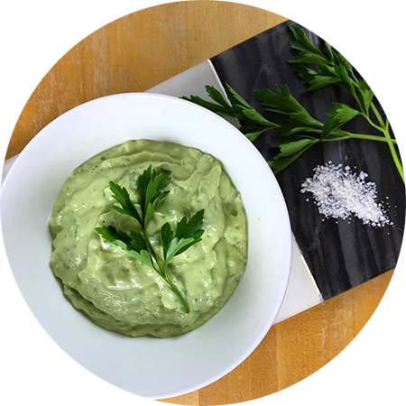 Avocado yogurt dip - circle.png