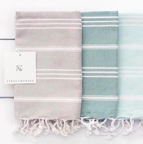 Stray & Wander - Turkish Towels & Linens