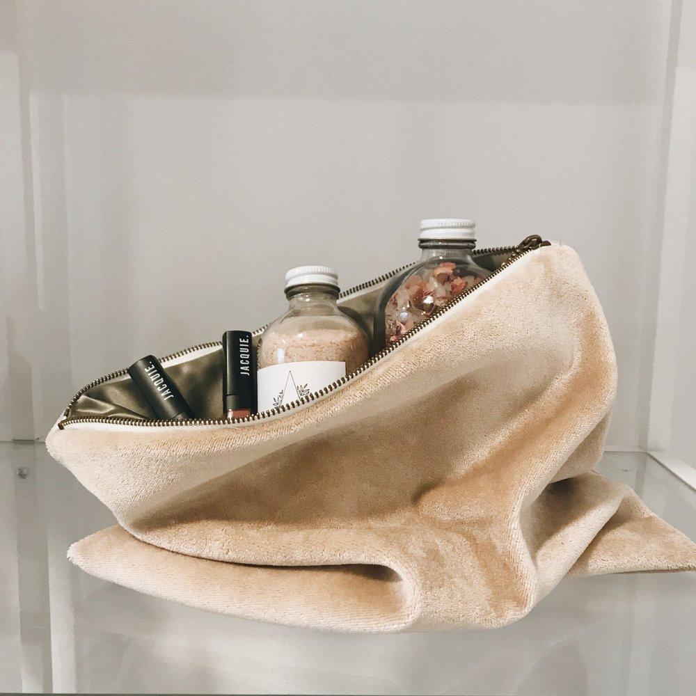 Anne Neerhof - Velvet Makeup Bags