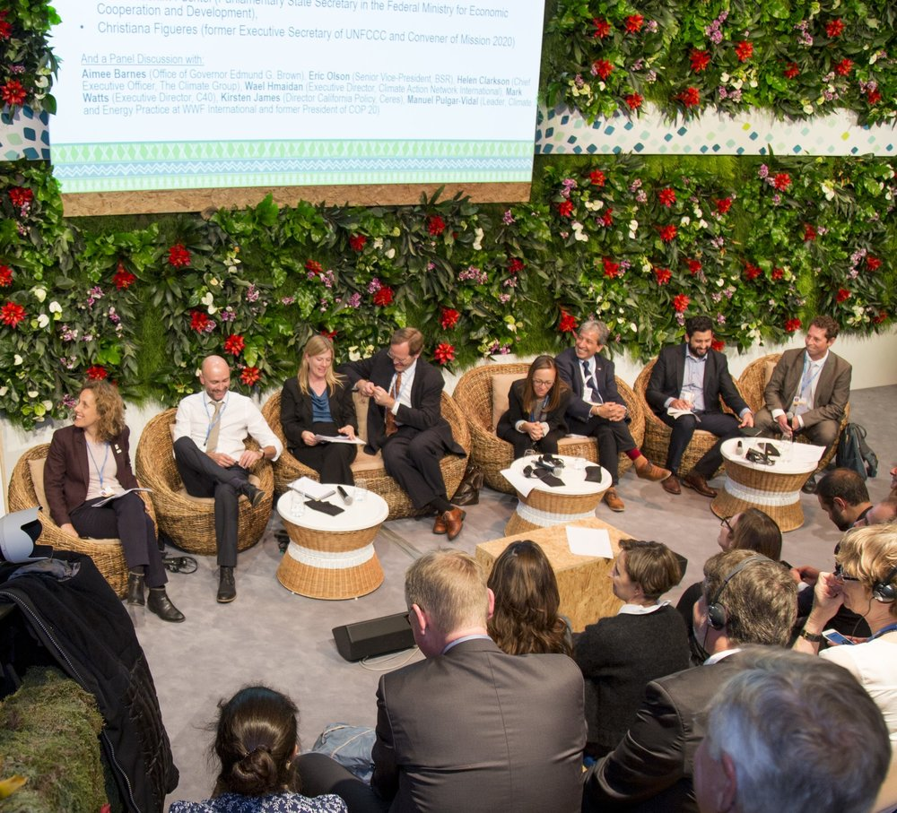 Join the group of National and World Leaders coming together to act on Climate Change.