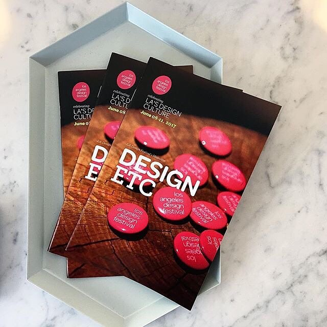 Design, etc.   — A printed guide and annual magazine for the LA Design Festival