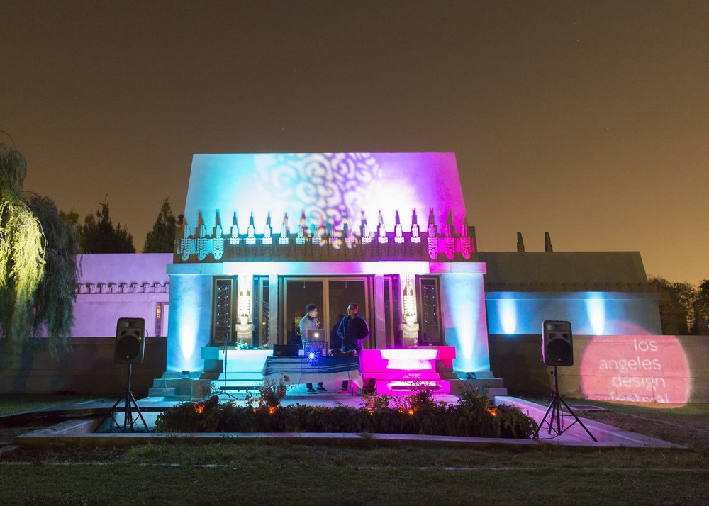 LA Design Festival Opening Night 2015 at Hollyhock House