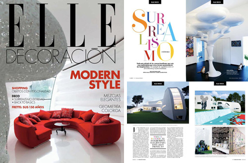 tecARCHITECTURE in Elle Mexico.